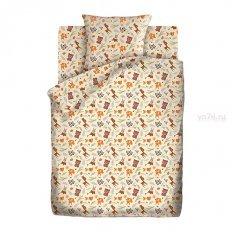 Детское постельное белье Кошки-мышки Маленькие зверушки (бязь-гост)
