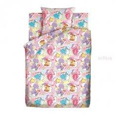 Детское постельное белье Кошки-мышки Зверята (бязь-гост)