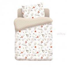 Детское постельное белье Непоседа Добрые привидения (поплин)
