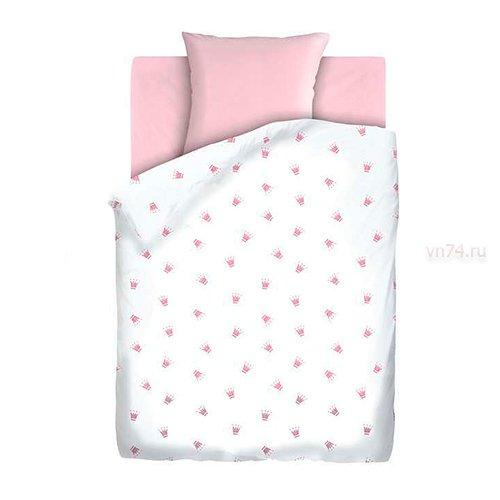 Детское постельное белье Непоседа Коронки (бязь-люкс)