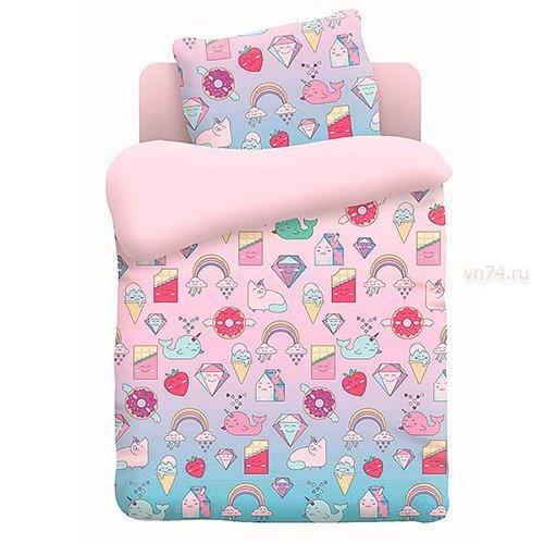 Детское постельное белье Непоседа Няшки (поплин)