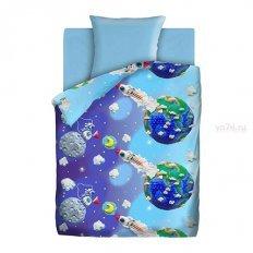 Детское постельное белье Непоседа Пластилиновый космос (бязь-люкс)