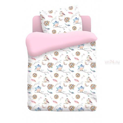Детское постельное белье Непоседа Птенцы (бязь-люкс)
