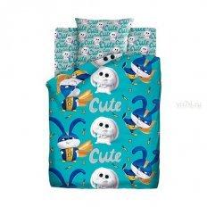 Детское постельное белье Тайная жизнь домашних животных 2 Снежок (поплин)
