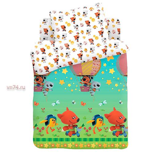 Детское постельное белье Ми-ми-мишки Воздушный шар (поплин)