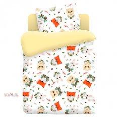 Детское постельное белье Непоседа Лесные пушистики (поплин)