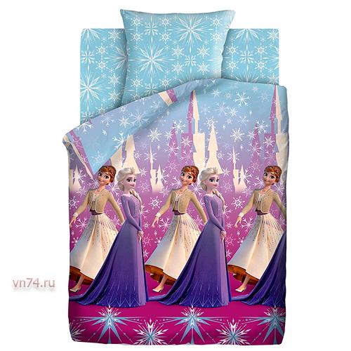 Детское постельное белье Холодное сердце 2 Королевский бал (поплин)