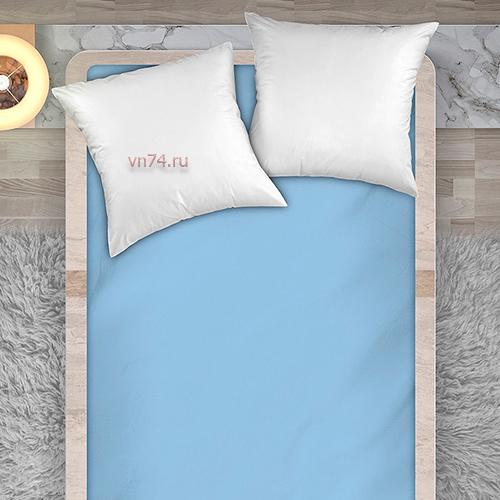 Простыня Унисон рисунок 86064 - 6 светло-голубой (перкаль)