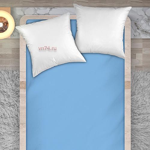 Простыня Унисон рисунок 86062 - 7 светло-голубой (перкаль)