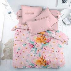Детское постельное белье For You Весенний зайка (бязь-люкс)