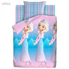 Детское постельное белье Царевны Аленка (поплин)