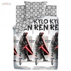 Детское постельное белье Star Wars Neon Верховный лидер (поплин)