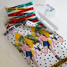 Детское постельное белье Харли Квинн (поплин)