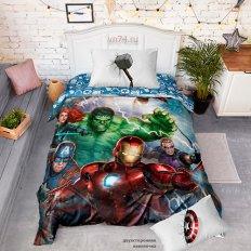 Детское постельное белье Мстители Superheroes (поплин)