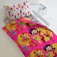 Детское постельное белье Мульт Девчонки (поплин)