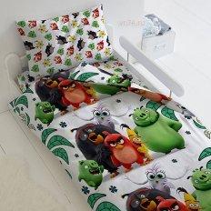 Детское постельное белье Angry Birds 2 Птичий остров (бязь-люкс)
