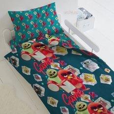 Детское постельное белье Angry Birds 2 Заморозка (бязь-люкс)