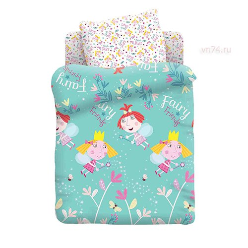 Детское постельное белье Бен и Холли Холли и Стробери (поплин)