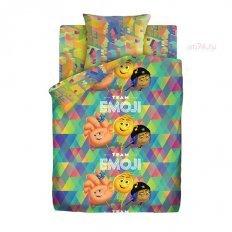 Детское постельное белье Emoji movie Команда Эмоджи (бязь-люкс)