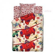 Детское постельное белье Город героев (бязь-люкс)