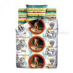 Детское постельное белье Король Лев Симба (поплин)