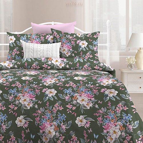 Постельное белье Любимый дом Весенний букет вид 3 (поплин)