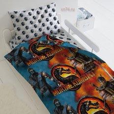 Детское постельное белье Mortal Kombat Мортал (поплин)