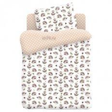 Детское постельное белье Juno Hedgehogs (поплин)