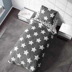 Постельное белье Crazy Getup Grey stars (перкаль)