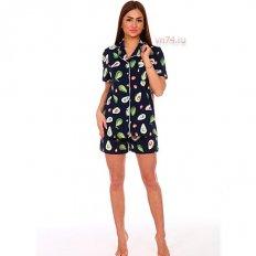 Пижама Секрет-2 авокадо (хлопок)