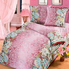 Постельное белье Арт-постель Кружева бордо (бязь-люкс)