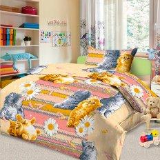 Детское постельное белье Анастасия Кис Кис (бязь-люкс)