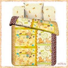 Детское постельное белье Юниор Принц саванны (бязь-люкс)