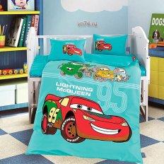 Детское постельное белье DO&CO Car (сатин-люкс)