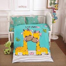 Детское постельное белье DO&CO Guraffe (сатин-люкс)