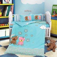 Детское постельное белье DO&CO Happy (сатин-люкс)