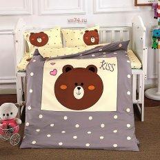 Детское постельное белье DO&CO Kiss (сатин-люкс)