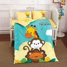 Детское постельное белье DO&CO Safari (сатин-люкс)