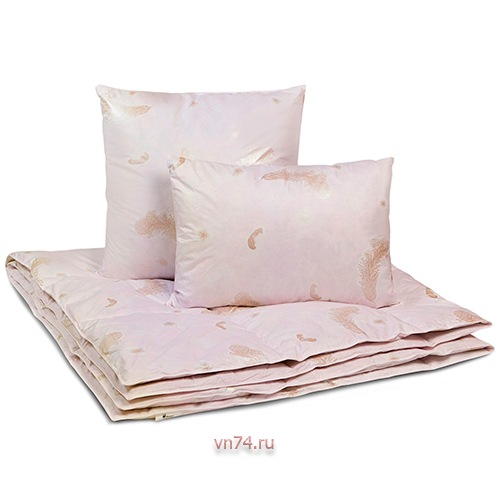 Подушка Kariguz Семейная гусиный пух (хлопок)