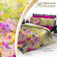 Постельное белье 3D Romance Daisy bouquet (сатин)