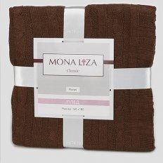Плед вязаный Mona Liza Classic Monet шоколад