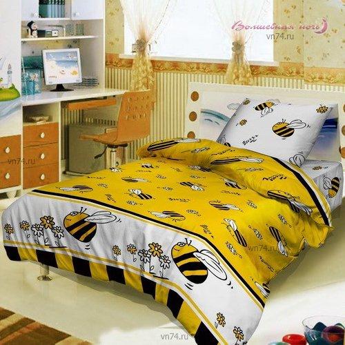 Детское постельное белье Bravo Kids Пчелы (поплин)