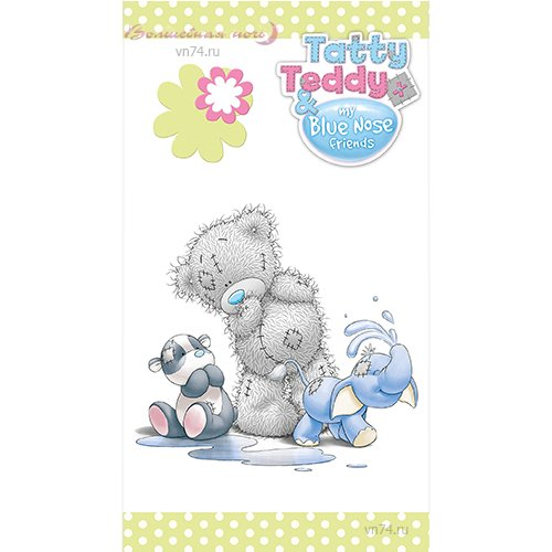 Полотенце махровое Голубоносый Teddy с друзьями