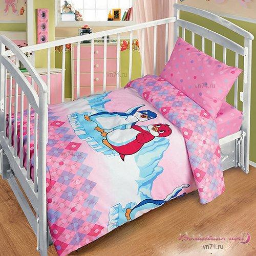 Детское постельное белье Лоло и Пепе (бязь-люкс)