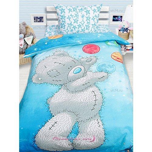 Детское постельное белье Mona Liza Тедди Астроном (бязь-люкс)