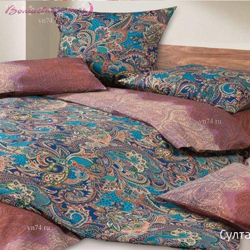Постельное белье Гармоника Султан (сатин)