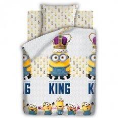 Детское постельное белье Миньоны Кинг (бязь-люкс)