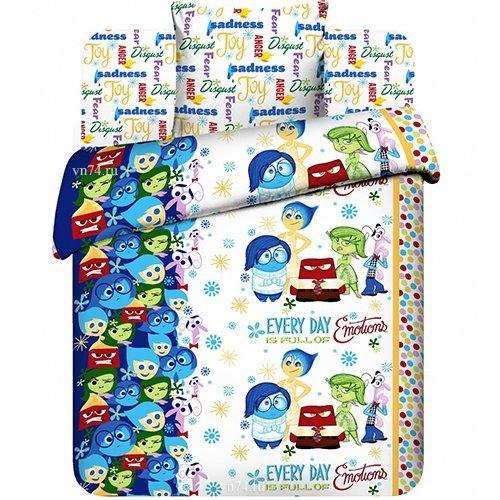 Детское постельное белье Disney Головоломка (бязь-люкс)
