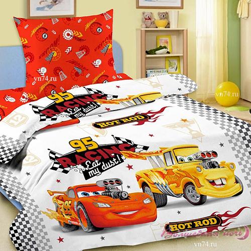 Детское постельное белье Disney Крутые Тачки (бязь-люкс)