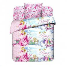 Детское постельное белье Disney Замок Авроры (бязь-люкс)